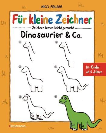 Für kleine Zeichner - Dinosaurier & Co.
